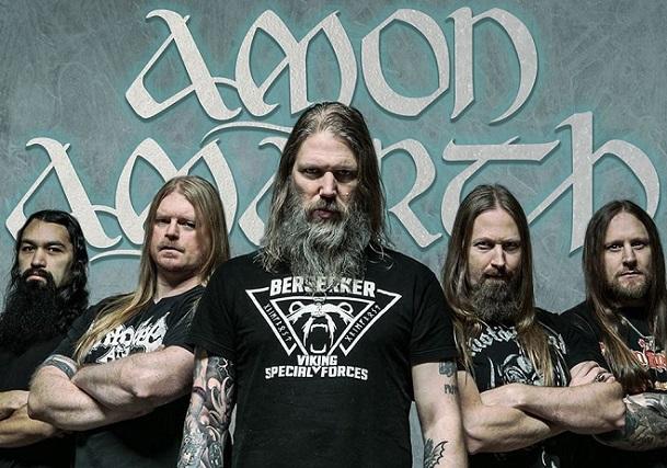 Amon Amarth dévoile une nouvelle vidéo