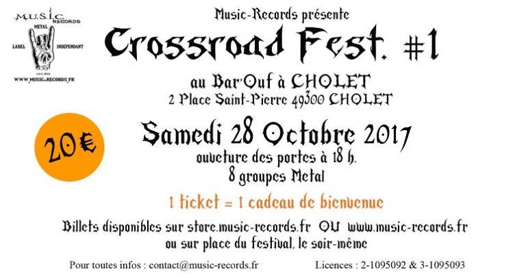 CROSSROAD FEST: première édition