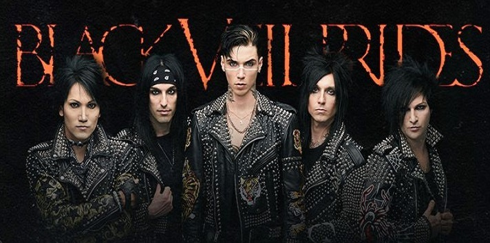 BLACK VEIL BRIDES :Nouvel album « Vale » le 12 janvier 2018