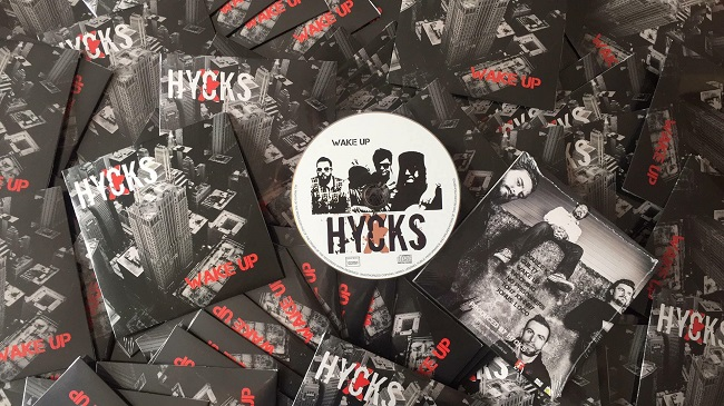Chronique :  Hycks EP «Wake Up»