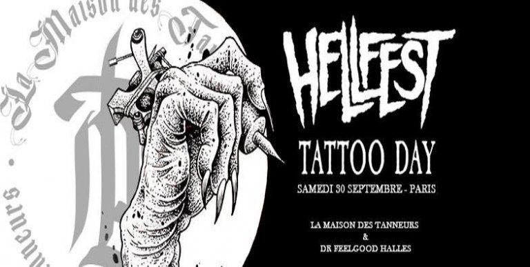 HELLFEST: Tattoo day le 30 septembre prochain à Paris