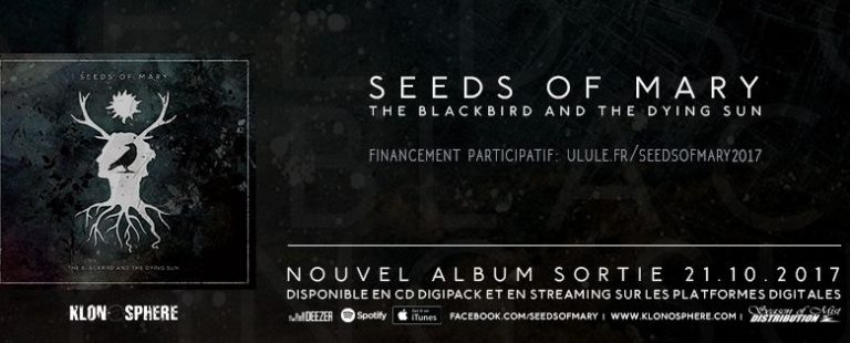 Chronique : Seeds Of Mary «The Blackbird and The Dying Sun»