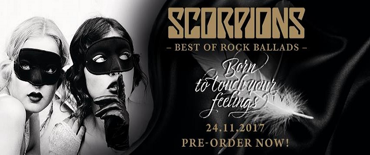 SCORPIONS nouvel album Best Of le 24 novembre