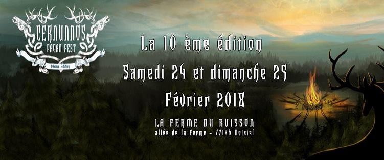 Cernunnos Pagan Fest : 2ème annonce