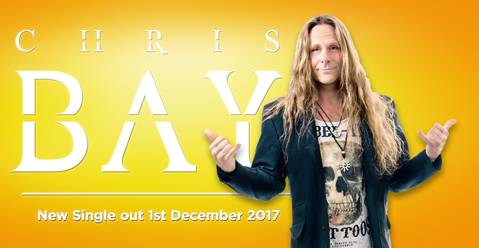 CHRIS BAY : Album Solo en 2018