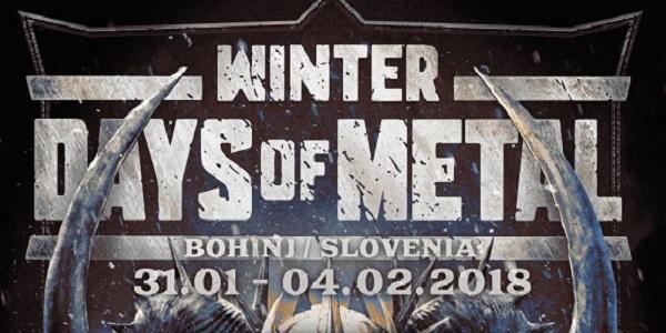 WINTER DAYS OF METAL : révèle son affiche finale !