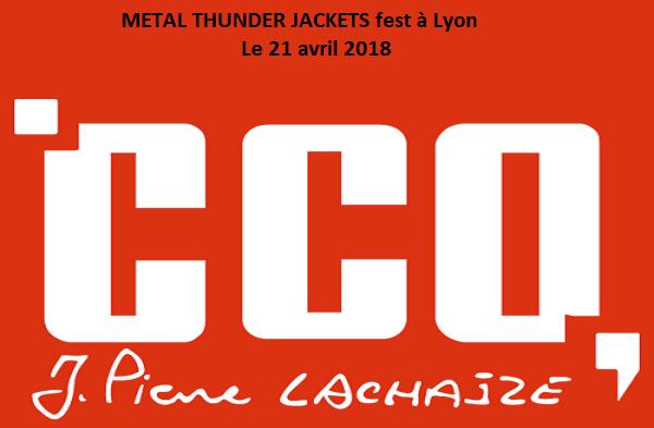 METAL THUNDER JACKETS fest à Lyon