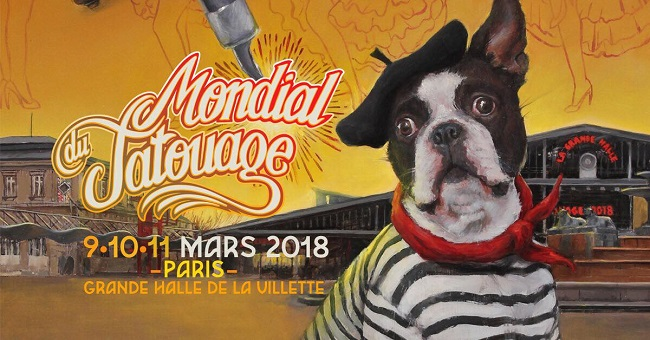 Le Mondial du Tatouage expose Shawn Barber