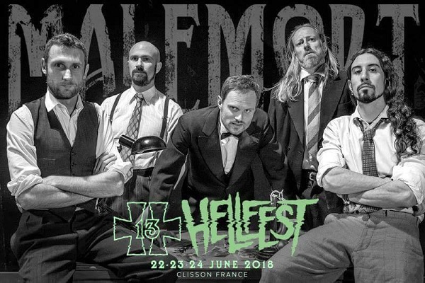 MALEMORT participe au Hellfest 2018