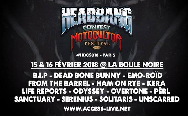 Headbang Contest : Demi-finale