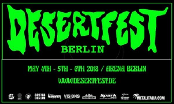 DESERTFEST BERLIN : nouvelle annonce