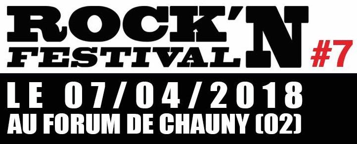 ROCK'N FESTIVAL 2018 7ème édition