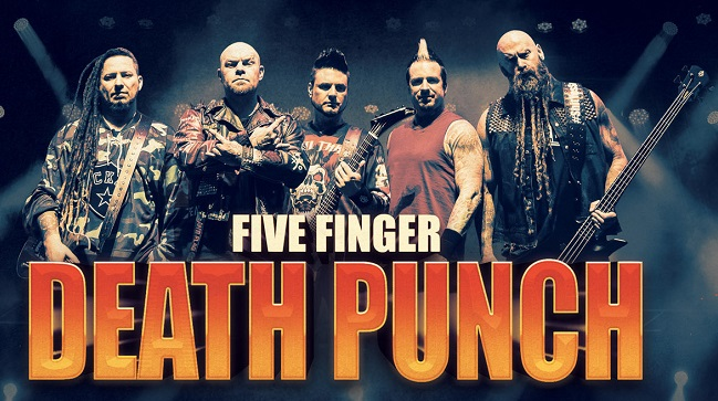 FIVE FINGER DEATH PUNCH : Nouveau titre en écoute