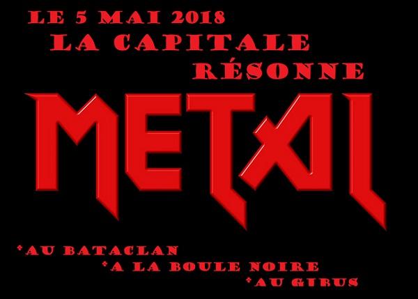 Le 5 Mai la capitale résonne Metal