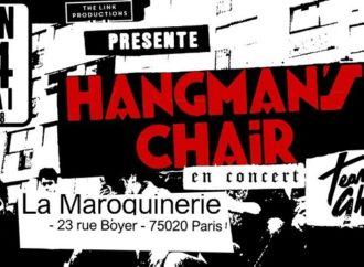 HANGMAN'S CHAIR + Team Ghost