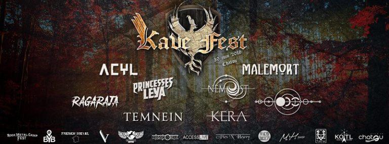 Le Kave Fest, c'est dans un mois !