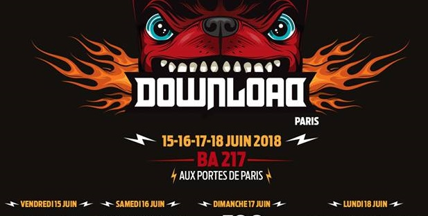 Download Festival France : Running order