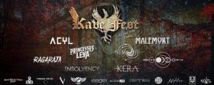 KAVE FEST : running order du 30 juin