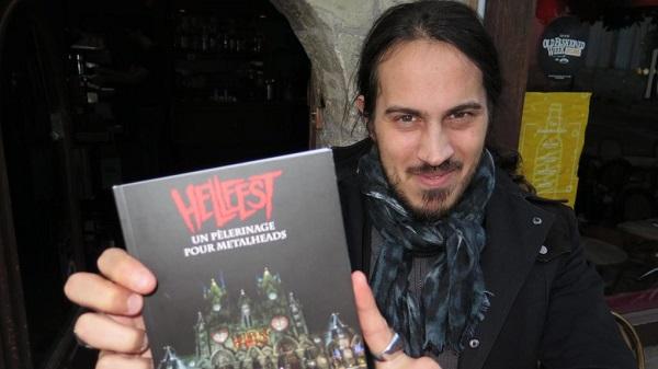 HELLFEST: Le livre «Le Hellfest, un pélerinage pour metalheads»