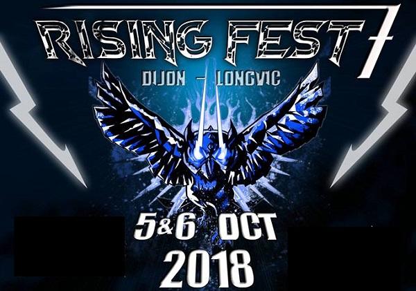 Rising Fest 7ème édition : les 5 et 6 octobre 2018