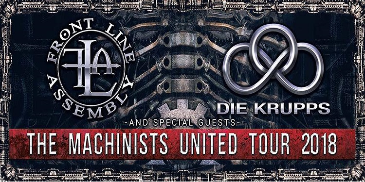 CONCOURS : Die Krupps + Front Line Assembly + Tension Control