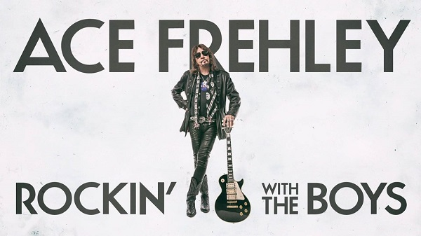 ACE FREHLEY propose le nouveau titre « Rockin' with the boys »