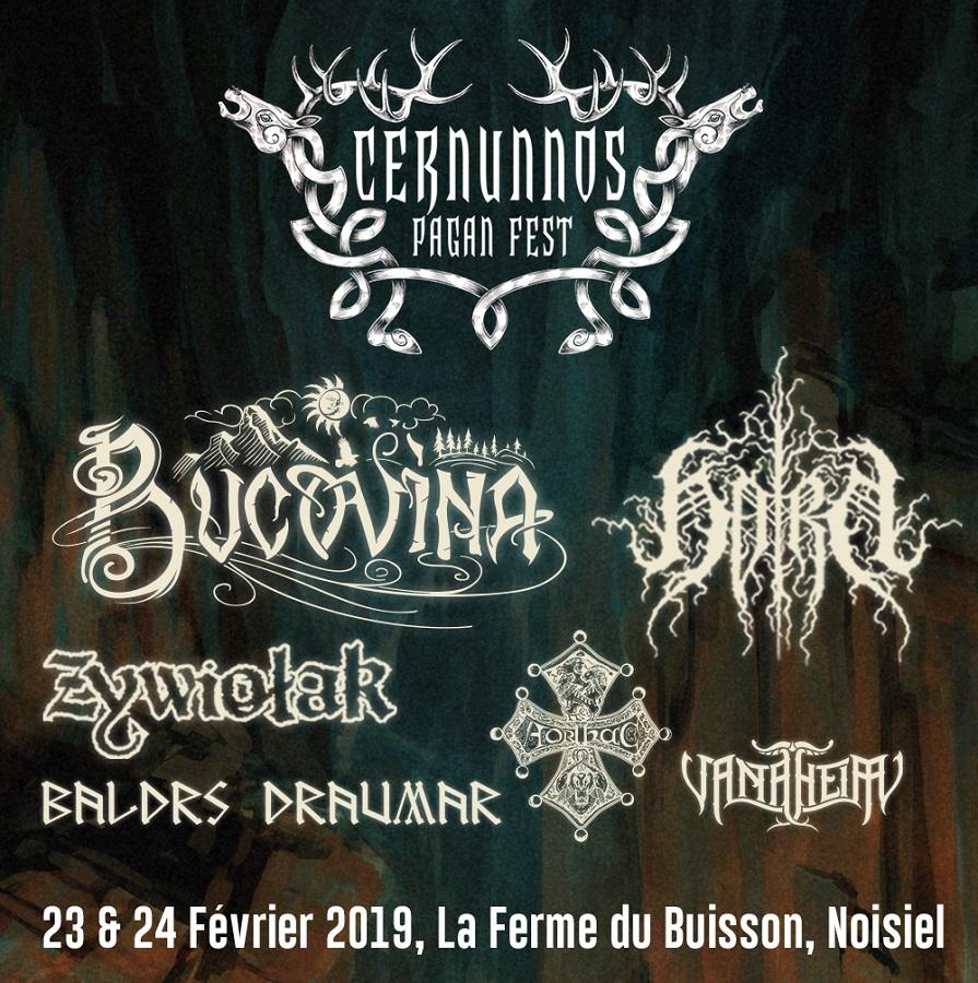 Cernunnos Pagan fest : les 23 et 24 février 2019 - Rock Metal Mag