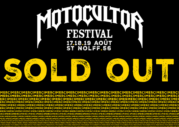 Motocultor Festival Open Air : Sold Out !