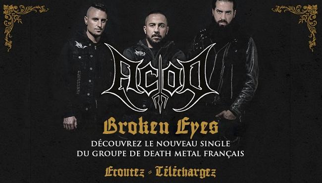 ACOD dévoile le nouveau single «Broken Eyes»