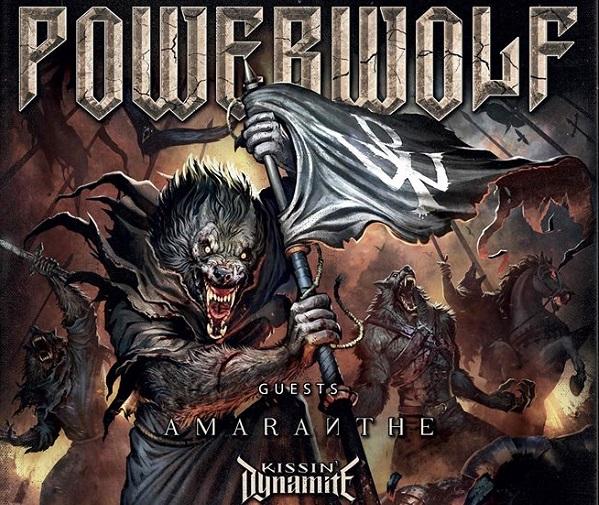 Powerwolf : 10 dates en janvier