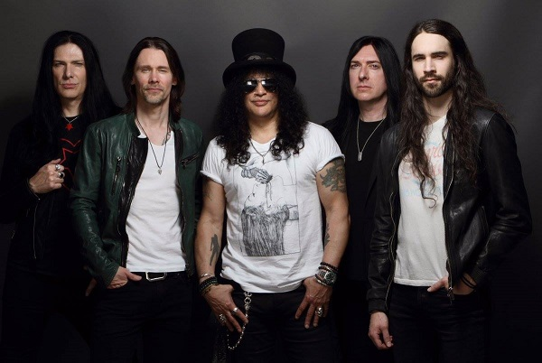 Slash featuring Miles Kennedy & The Conspirators : Tournée européenne