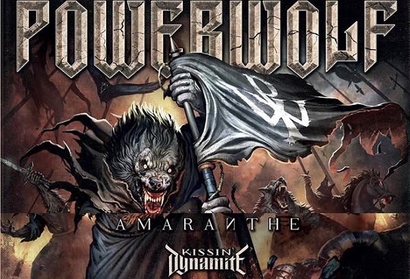 Powerwolf + Amaranthe + Kissin Dynamite le 25 octobre