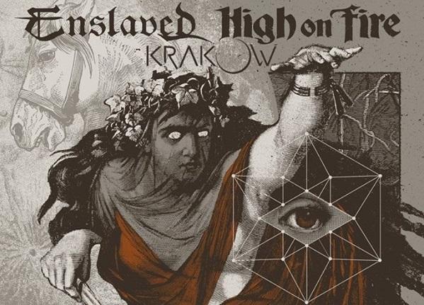 ENSLAVED + HIGH ON FIRE + KRAKOW le 16 octobre