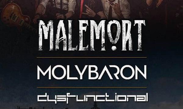 Malemort, Molybaron et Dysfunctional le 12 octobre