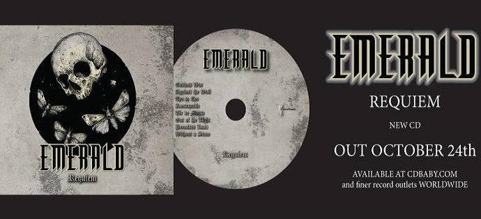 EMERALD sort son 4ème album 'Requiem'