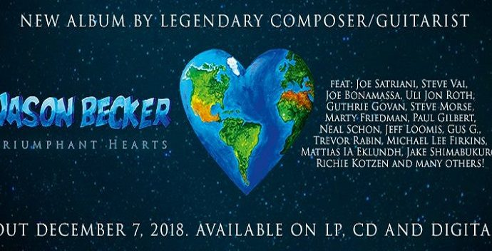 Jason Becker : Nouvel album « Triumphant Hearts »