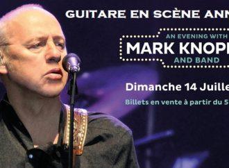 Le Festival Guitare en Scène annonce Mark Knopfler