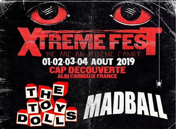 Xtreme Fest annonce ses premiers noms