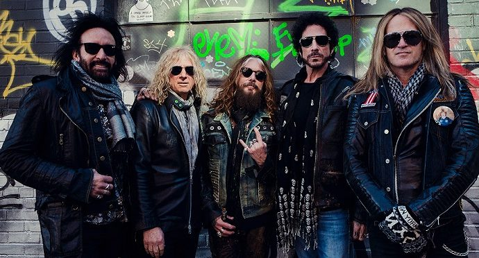 "THE DEAD DAISIES : Nouveau single ""Can't take it with you"""