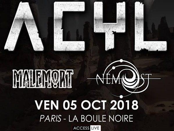 Acyl + Malemort + Nemost : Live Report