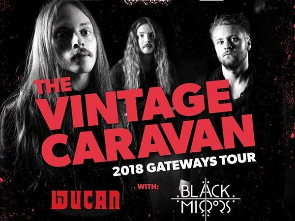 The Vintage Caravan, Wucan, Black Mirrors