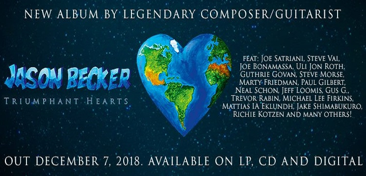 JASON BECKER : Nouvelle vidéo «Hold On To Love»