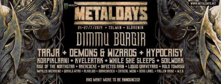 METAL DAYS : Nouveaux groupes à l'affiche
