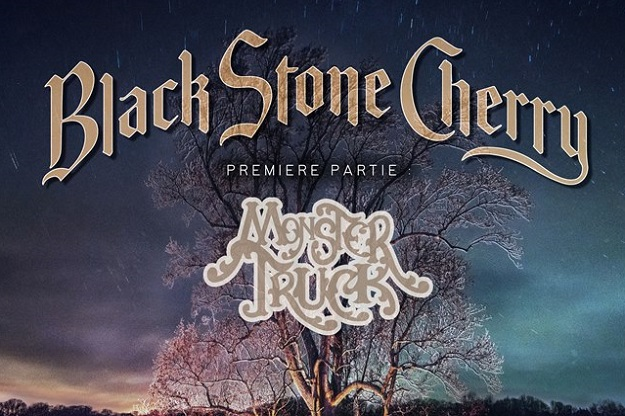 Black Stone Cherry + Monster Truck le 3 décembre