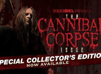 Cannibal Corpse dans un numéro spécial de Decibel Magazine