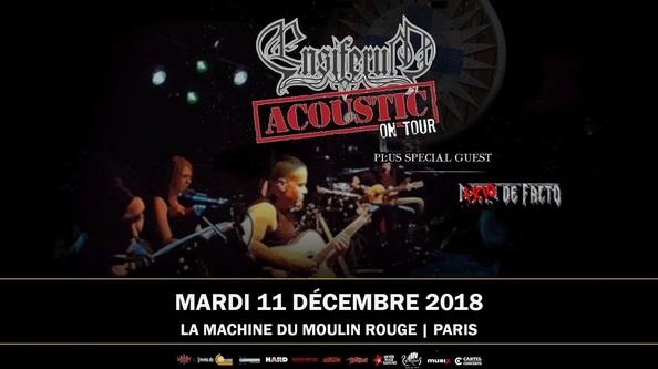 ENSIFERUM [Acoustic Live]+Trio de Facto le 11 décembre
