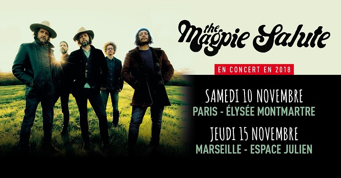 THE MAGPIE SALUTE : A découvrir absolument