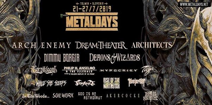 Arch Enemy en tête d'affiche du MetalDays !