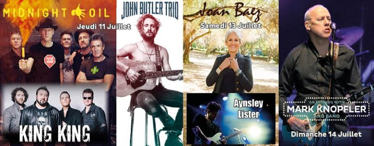 Guitare en Scène annonce Joan Baez et Aynsley Lister