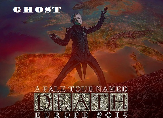 GHOST : Concert à Paris complet